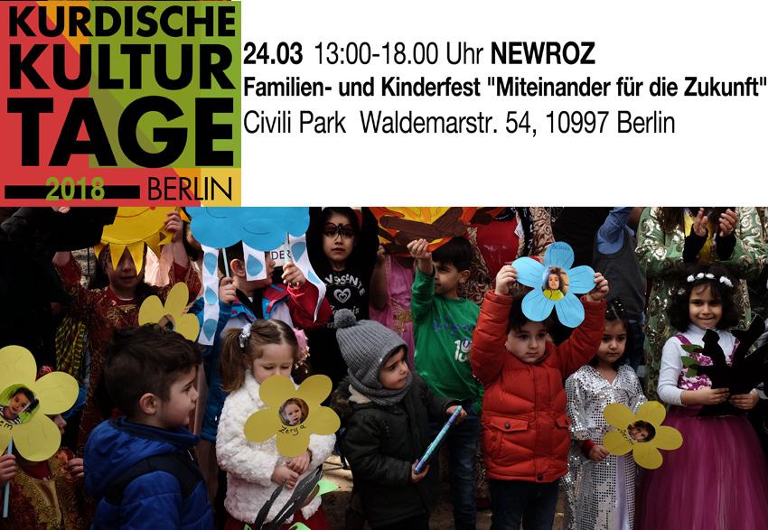 KURDISCHE KULTURTAGE (Familien- und Kinderfest-Newroz)
