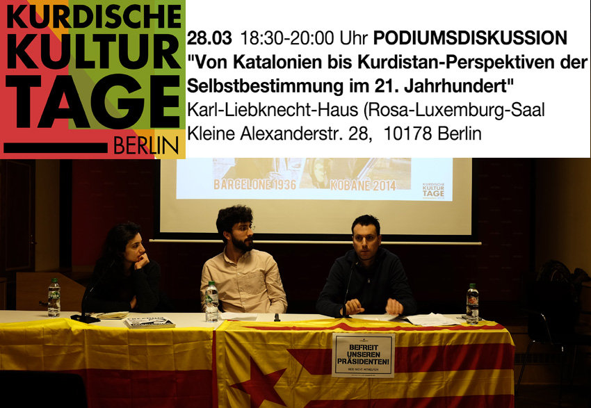 Thumbnail for the post titled: Kurdische Kulturtage 2018 (Podiumsdiskussion)