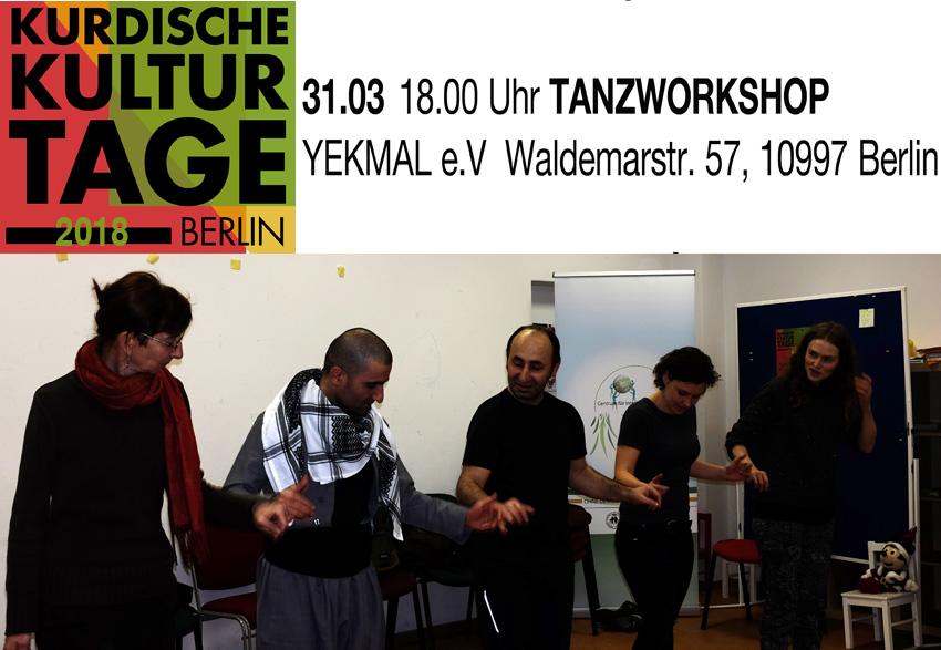 KURDISCHE KULTURTAGE (Tanzworkshop-2)